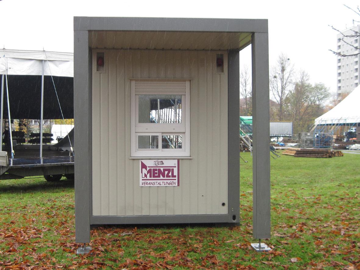 Vordächer - Eventcontainer